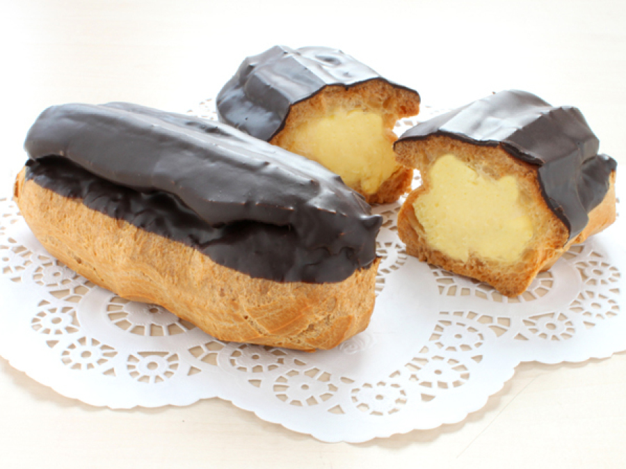 Pudding-Eclair