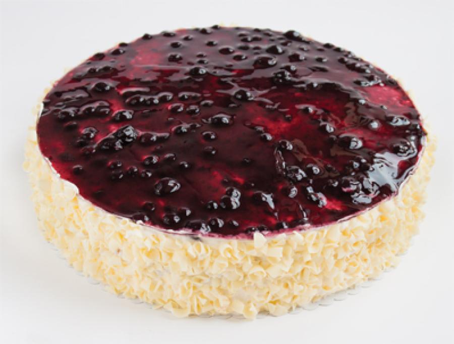 Frucht-Sahne Torte Blaubeere