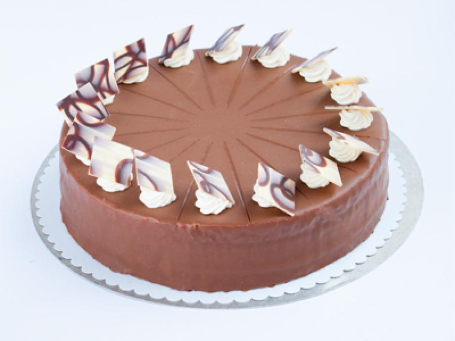 Nougat-Weinbrand-Torte