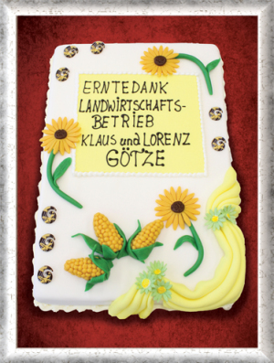 Erntedankfest-Torte