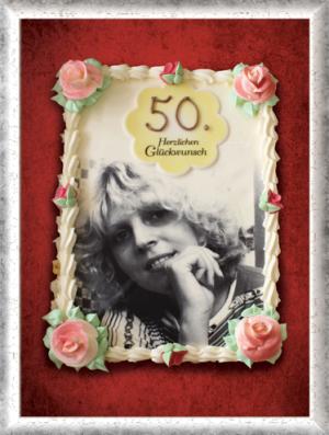 Bildertorte 50. Geburtstag