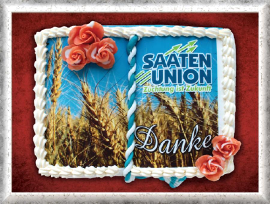 Buchtorte Saaten Union