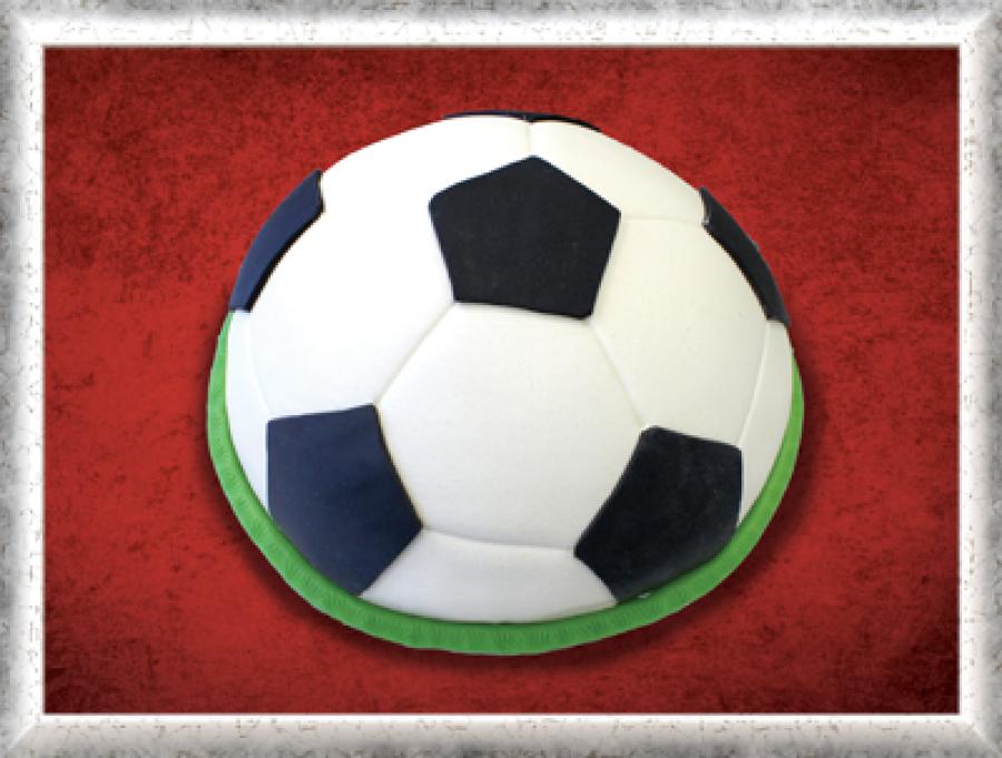 Sondertorte Kuppel Fußball