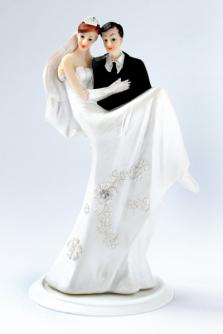 Brautpaar brünerr - schwarz