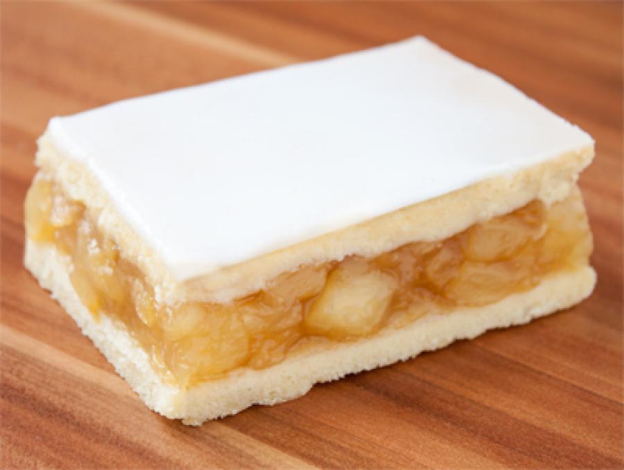 Apfelkuchen mit Decke