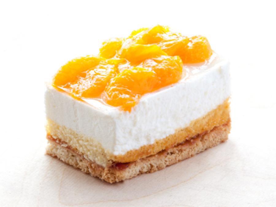 Mandarinen-Joghurtschnitte